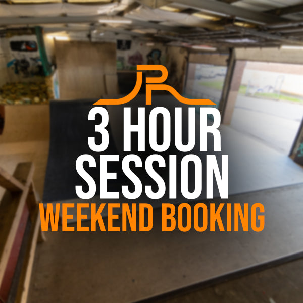 3 Hour Session (Weekend Booking)
