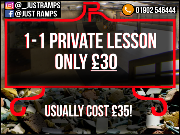 1-1 Private Lesson (Christmas Offer)