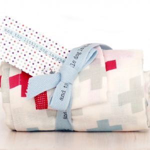 Crosses, 100% cotton muslin wrap