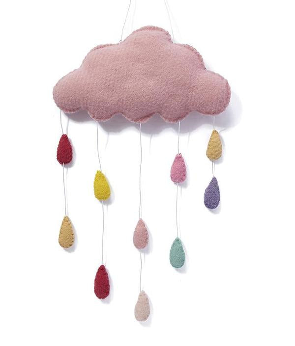 Cloud Wall Hanging - Pink