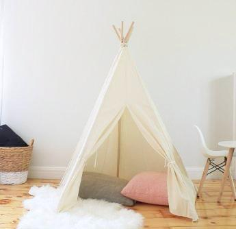 Teepee Tent - Natural