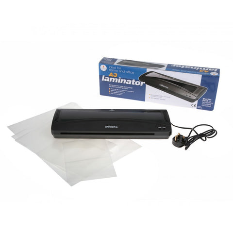 Automatic A3 Cathedral Laminator with Starter Pack of Pouches