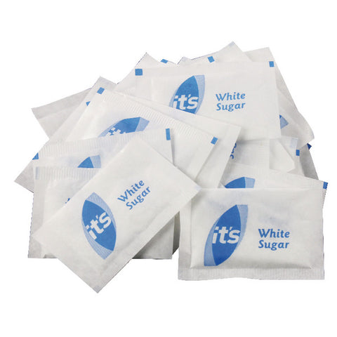 White Sugar Sachets Fair Trade Pk 1000