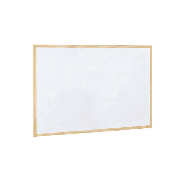 Wooden Frame Whiteboard 900x600mm includes wall fixing kit