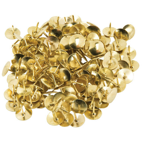 Brass Drawing Pins 11mm Pack 100