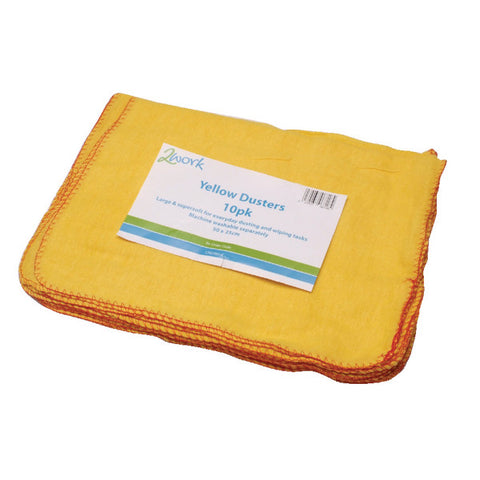 Yellow Duster 508 x 355mm Pk10