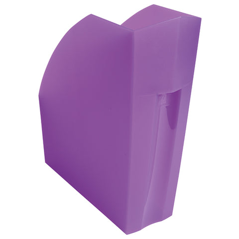 Exacompta Iderama A4+ Magazine File Purple