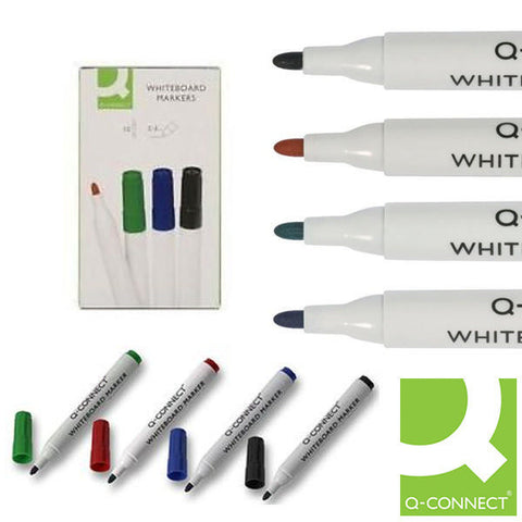 Drywipe Markers Assorted Wallet Pack 10
