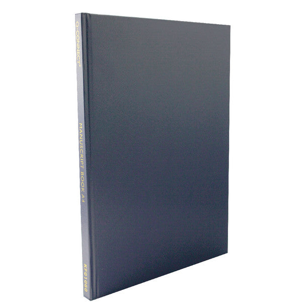 A4 Hardback Casebound Notebook Feint Lined Pack 1