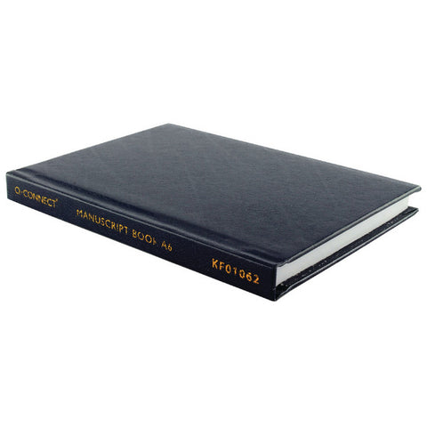 A6 Hardback Casebound Notebook Feint Lined Pack 1