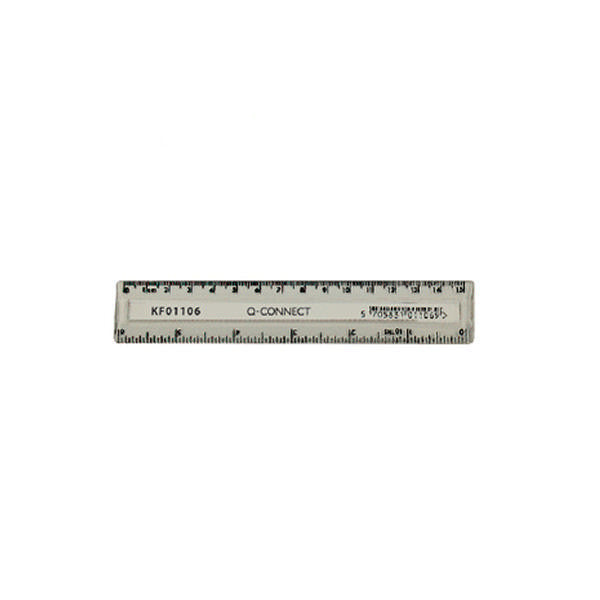 Clear Acrylic Plastic Ruler 15cm/6in (Pack of 1)
