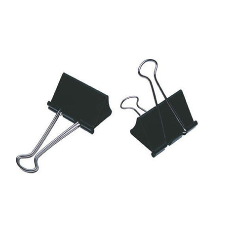 Foldback Clips 19mm Pack 10