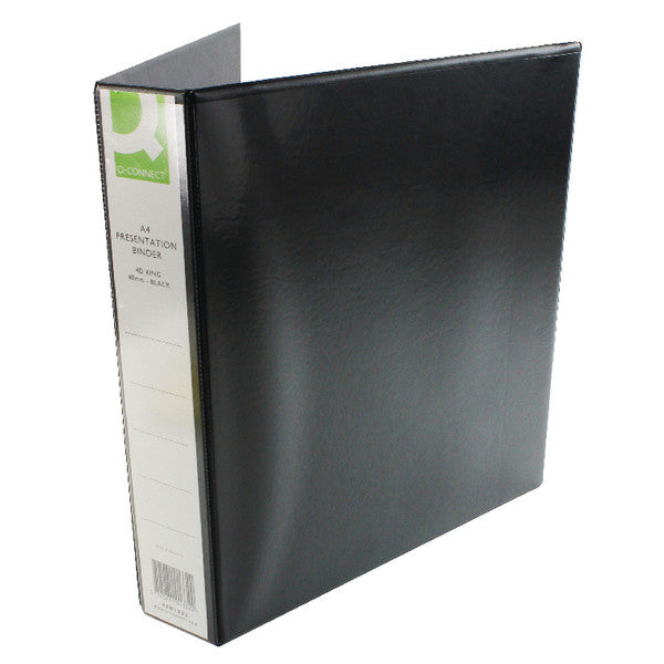 Presentation Ring Binder A4 25mm Black