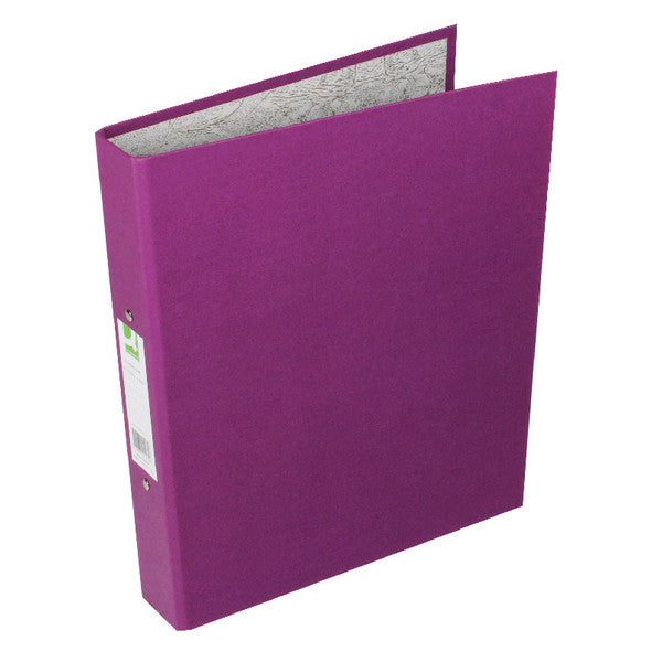 A4 Ring Binders Purple Pack 10 - 25mm spine