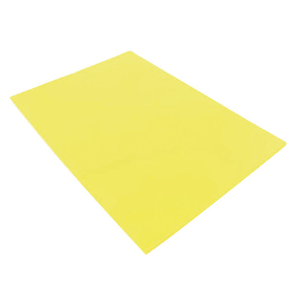 Cut Flush Folders Yellow A4 Pack 100