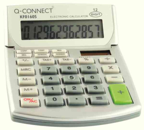 Semi-Desktop Calculator 12-digit Display