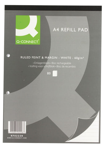 Refill Pad A4 Ruled Feint Head Bound  Pack 10