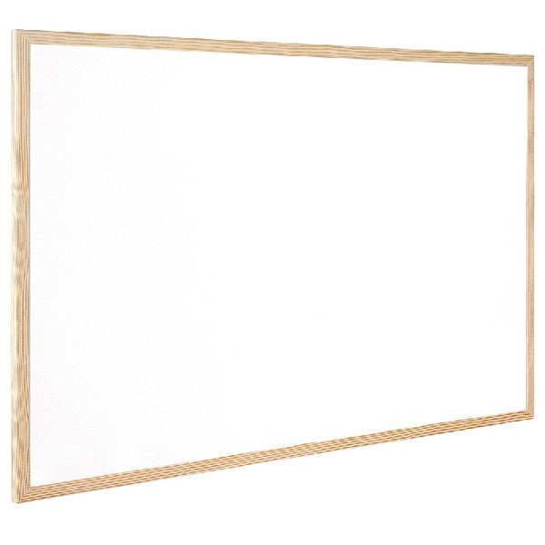 Wooden Frame Dry Wipe Board 600x400mm