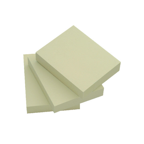 Repositionable Quick Notes 38 x 51mm Yellow Pack 12