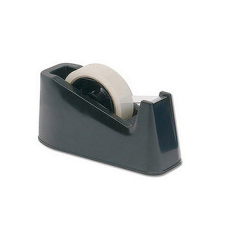 Desk Sticky Tape Dispenser For 33 and 66 Metre Tapes Black