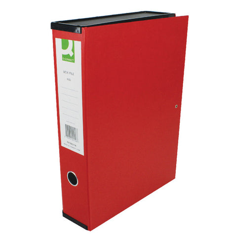 Foolscap Box File Red Pack 5