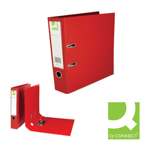 Lever Arch Files A4 Red