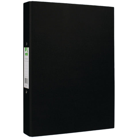 A4 Ring Binders Black Pack 10 25mm spine