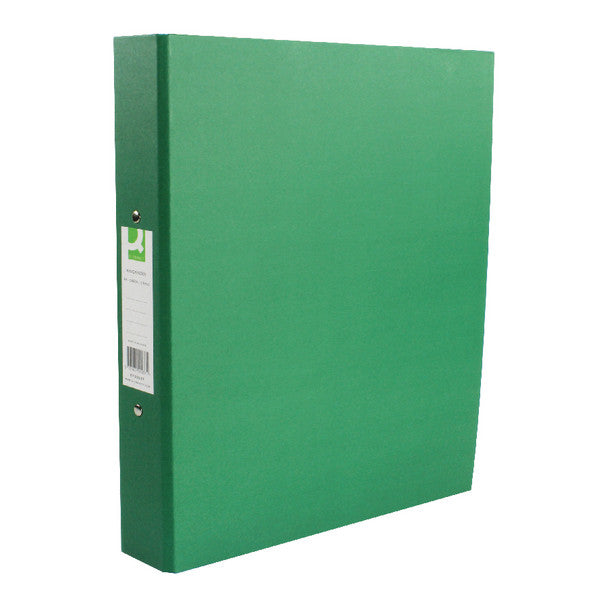 A4 Ring Binders Green Pack 10 25mm spine