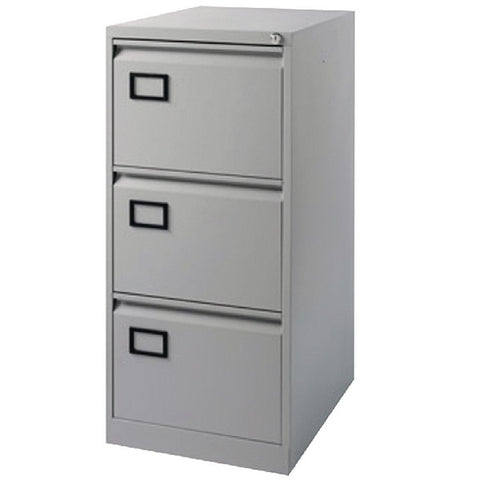 Filing Cabinet 3 drawer in Grey