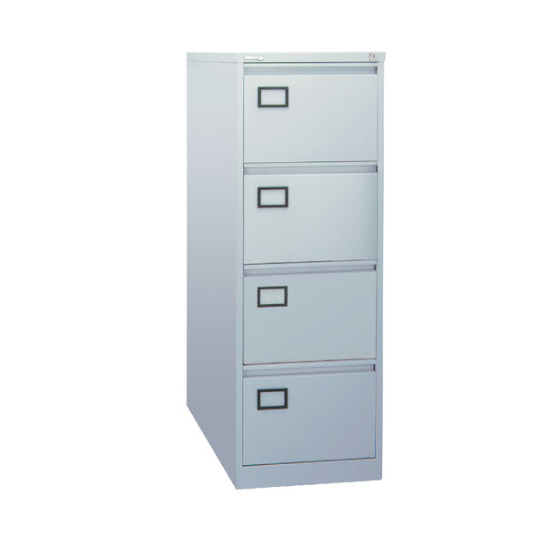 Filing Cabinet 4 drawer in Grey