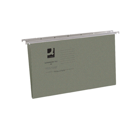 Suspension Files foolscap size complete with Tabs and Inserts box of 50 files