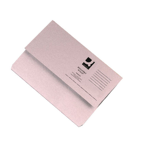 Document Wallet 285gsm Buff Foolscap Folders Pack 50