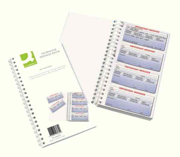 Telephone Message Book 200 Messages Duplicate Pack 1