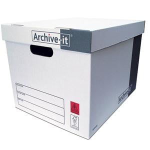 Archive-It Storage Boxes 384 x 317 x 287mm Pack 10