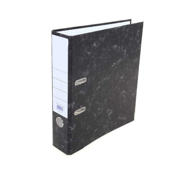 Pack 10 Foolscap Lever Arch File Cloud Grey