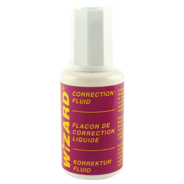 Wizard Correction Fluid 20ml Pack 10