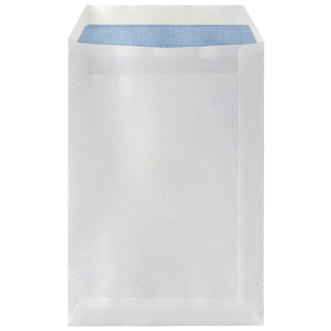 Envelope C5 White Self Seal Plain Envelopes 75gsm Box 500