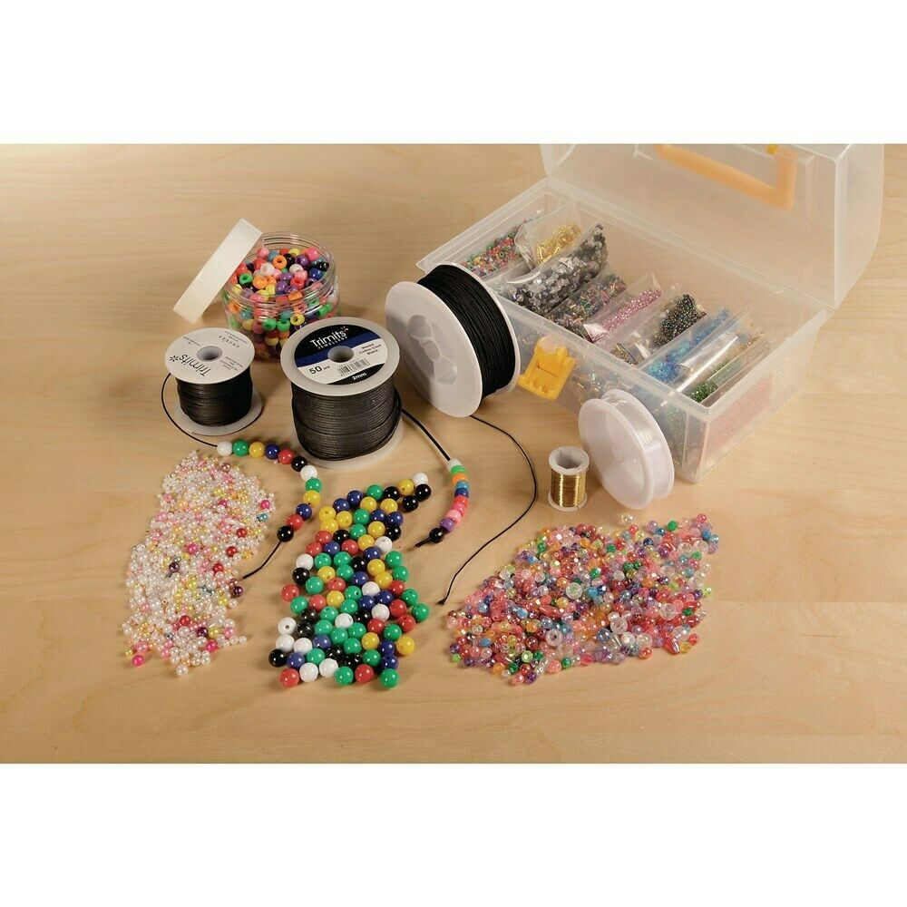 Jewellery Making Kit - Kids beaded bracelets & necklaces