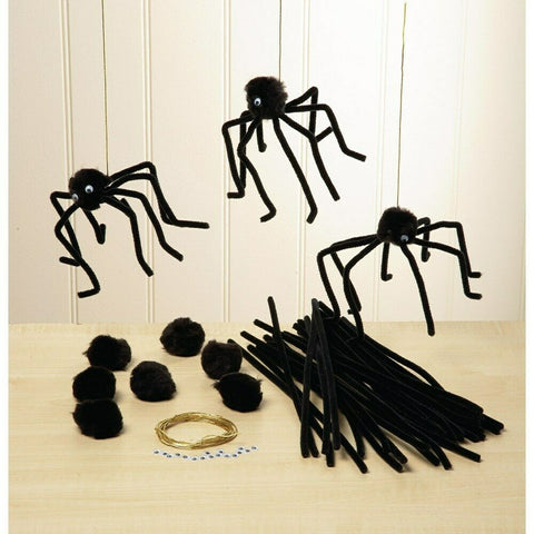 Make Your Own Spider Kit - Makes 10 spiders