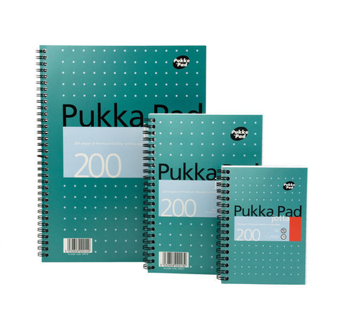 Pukka Pad Jotta Notepad Jotta 80gsm- Pack of 3- Choice of A4/A5/A6