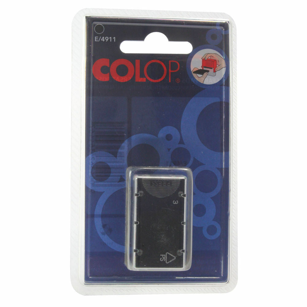 COLOP E/4911 Replacement Ink Pad Black- Pack of 2