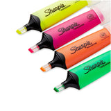 Sharpie Clear View Highlighters Assorted Colours- Pack of 4