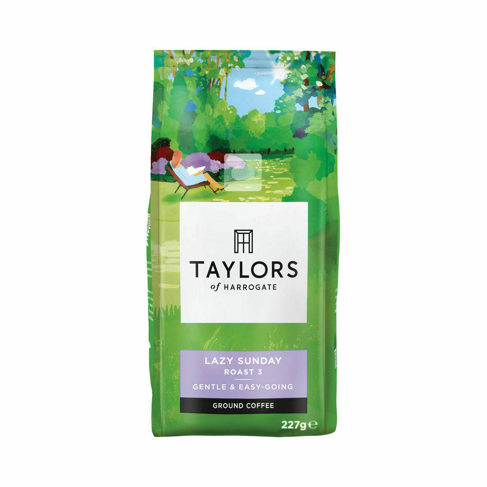 Taylors Lazy Sunday Ground Coffee- 227g