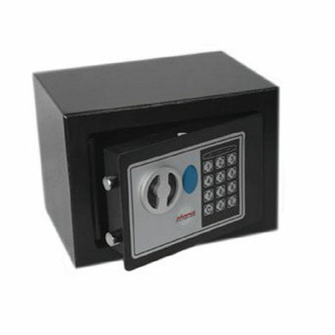 Phoenix Black Compact Home and Office Security Safe