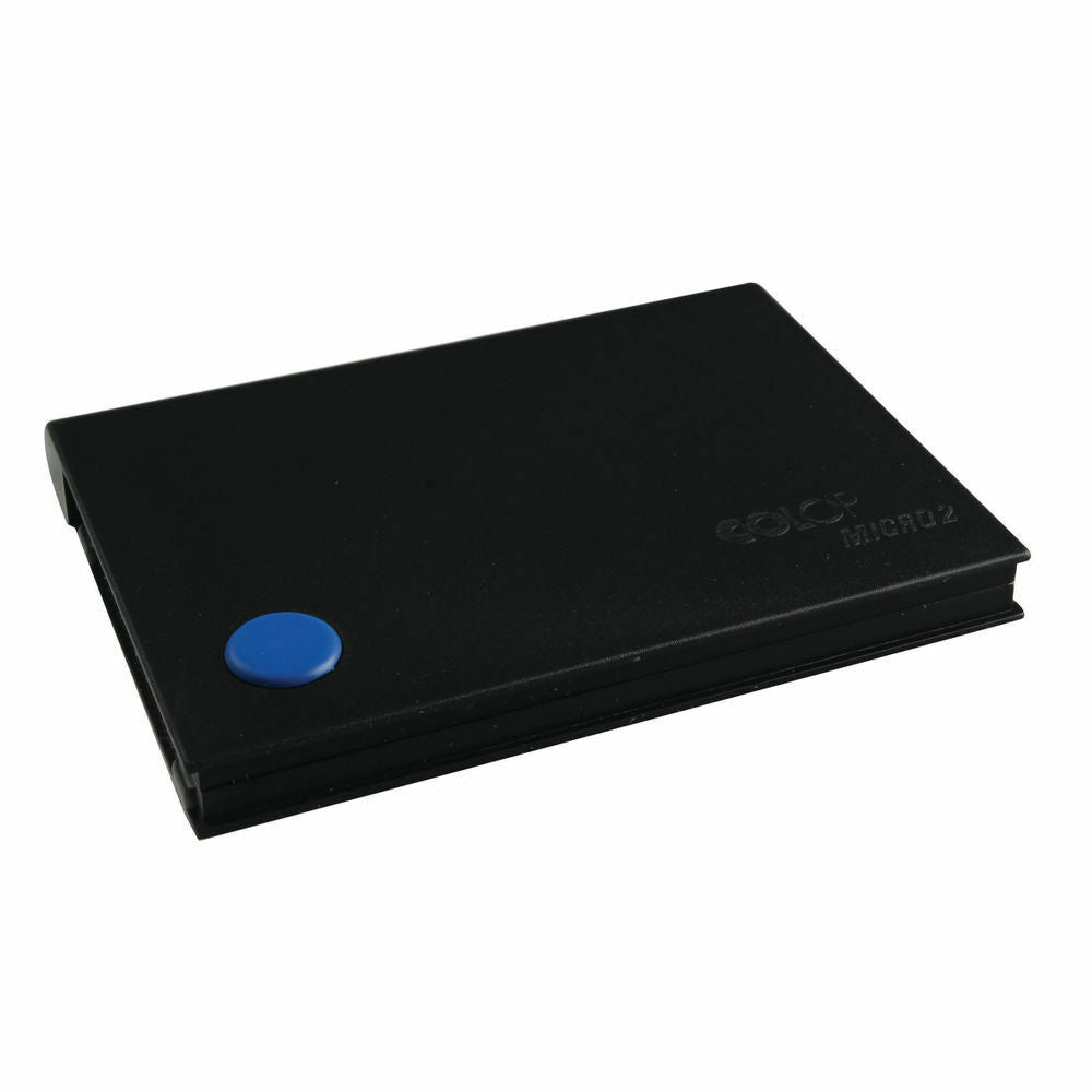 COLOP Micro 2 Stamp Pad Blue- MICRO2BE