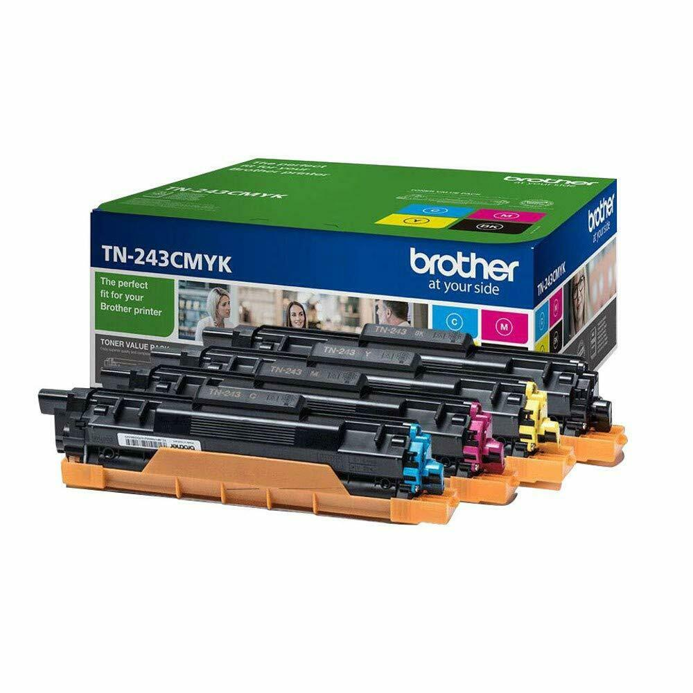 Brother Toner Cartridge Value Pack- TN243 C/M/Y/K