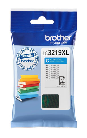 Brother LC3219XL Ink Cartridge Toner- Cyan