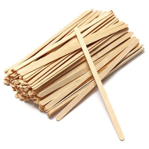 Hot Drink Wooden Stirrers 140mm Pack of 1000 For Paper Cups