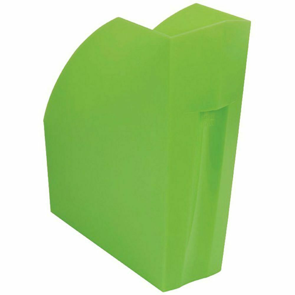 Exacompta Iderama A4+ Magazine File Lime