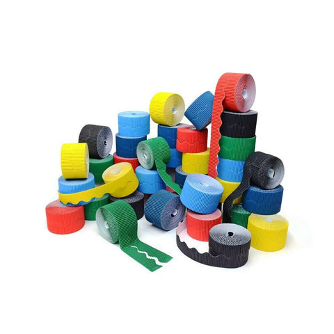 Bordette Assortment Bulk Box Of 36 Rolls- 6 Colours